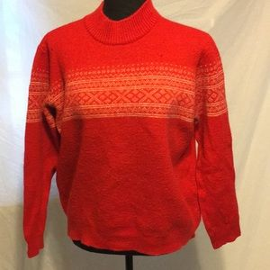 Vtg Austria made wool sweater